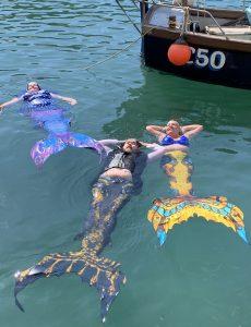 Mermaids in harbour