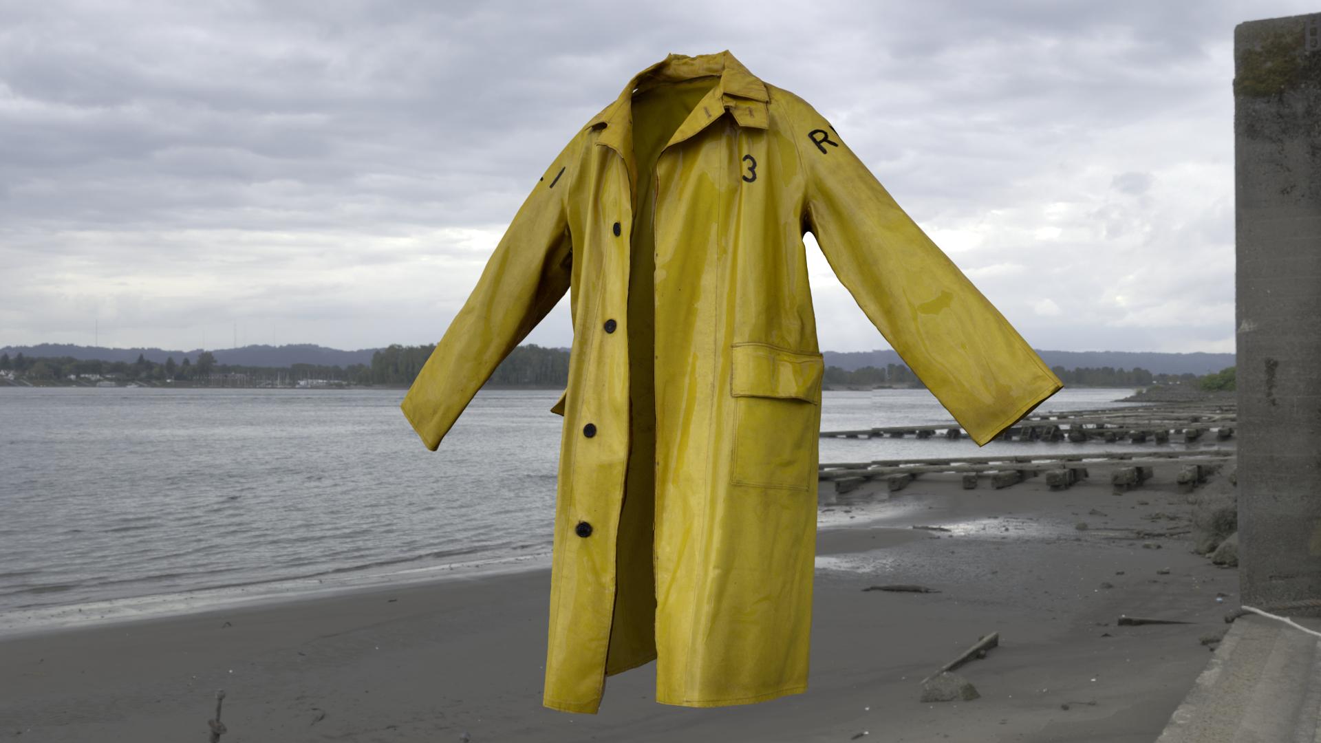 Lifeboat Coat 3D model